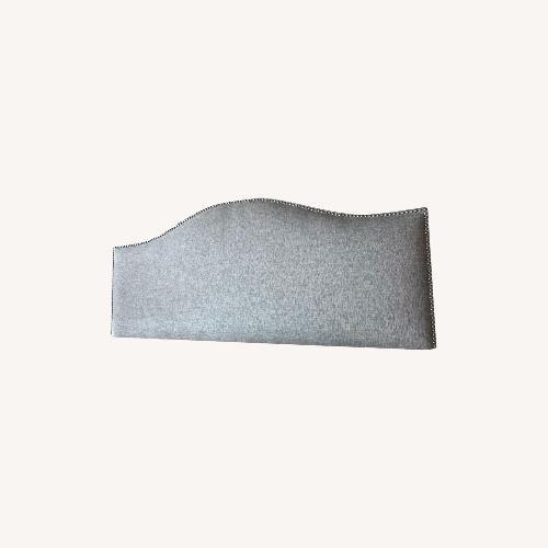 Used Joss & Main Gray/Silver Queen Headboard for sale on AptDeco
