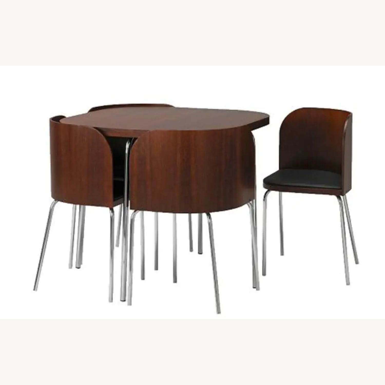 IKEA FUSION Table + 4 Chair Set, Sandra Kragnert - image-1