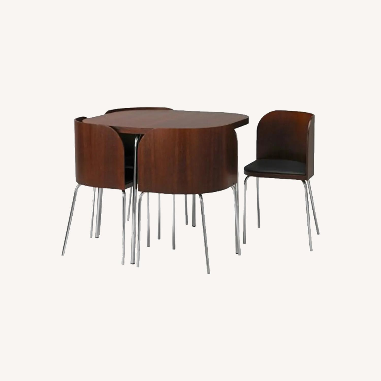 IKEA FUSION Table + 4 Chair Set, Sandra Kragnert - image-0