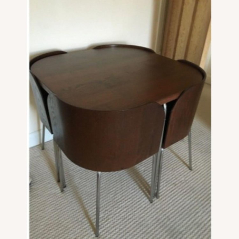 IKEA FUSION Table + 4 Chair Set, Sandra Kragnert - image-2