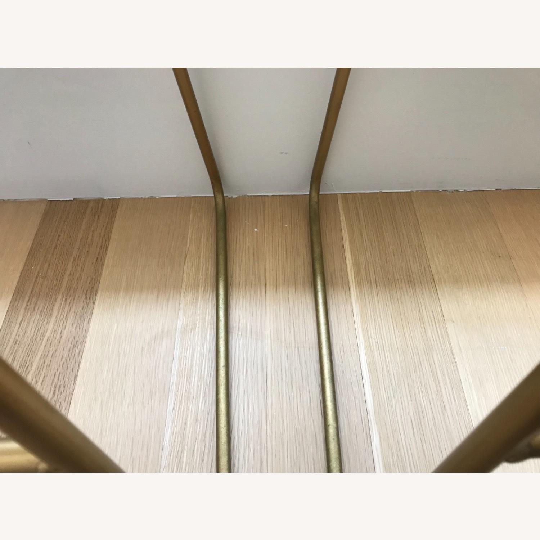 Target Faux Fur Brass Bar Stools - image-6