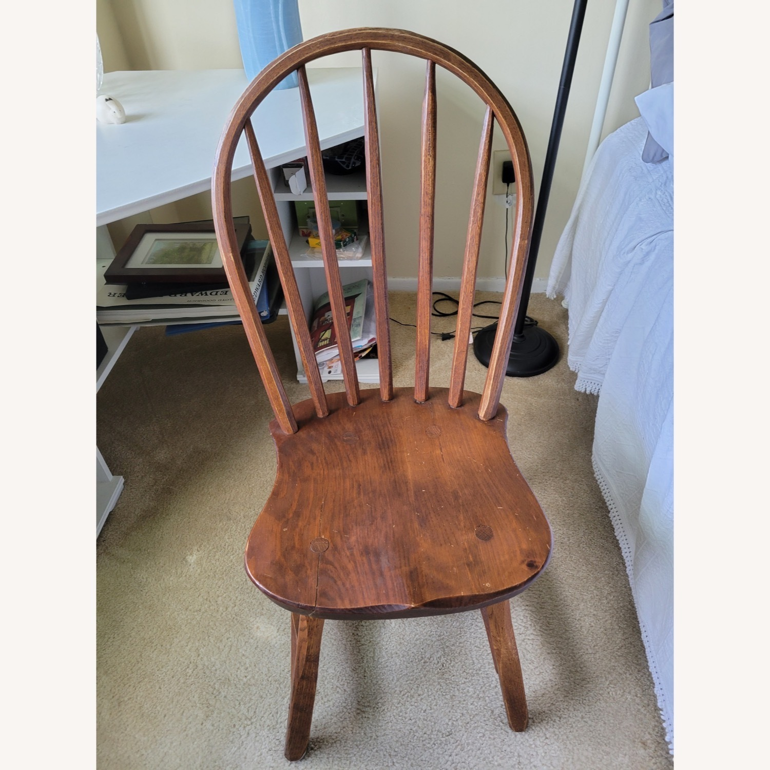 Curved Hunt Furniture Wood Chairs - image-2