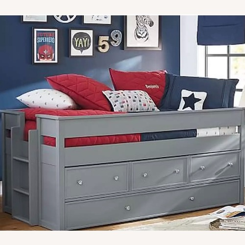 Used PBK Elliott Captains Bed with Trundle for sale on AptDeco
