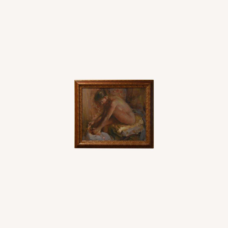 Original Nude Oil Painting - image-0
