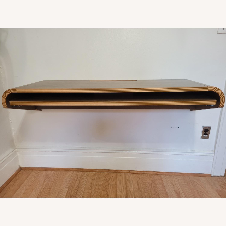 Minimal Wall Desk (walnut) - image-0