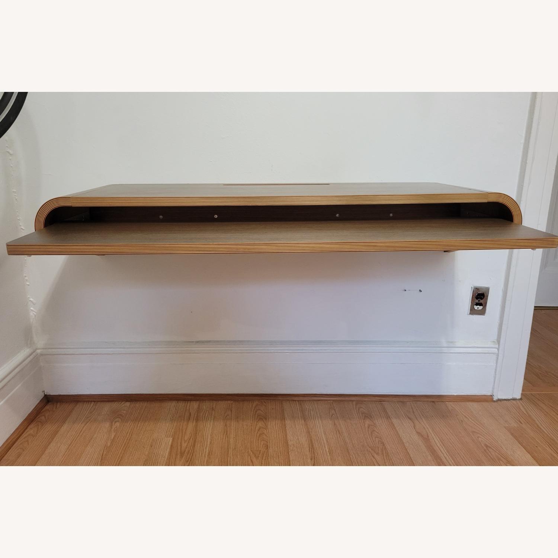 Minimal Wall Desk (walnut) - image-5