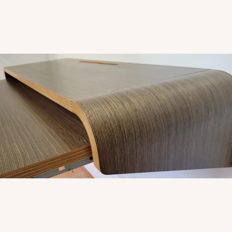 Minimal Wall Desk (walnut) - image-1