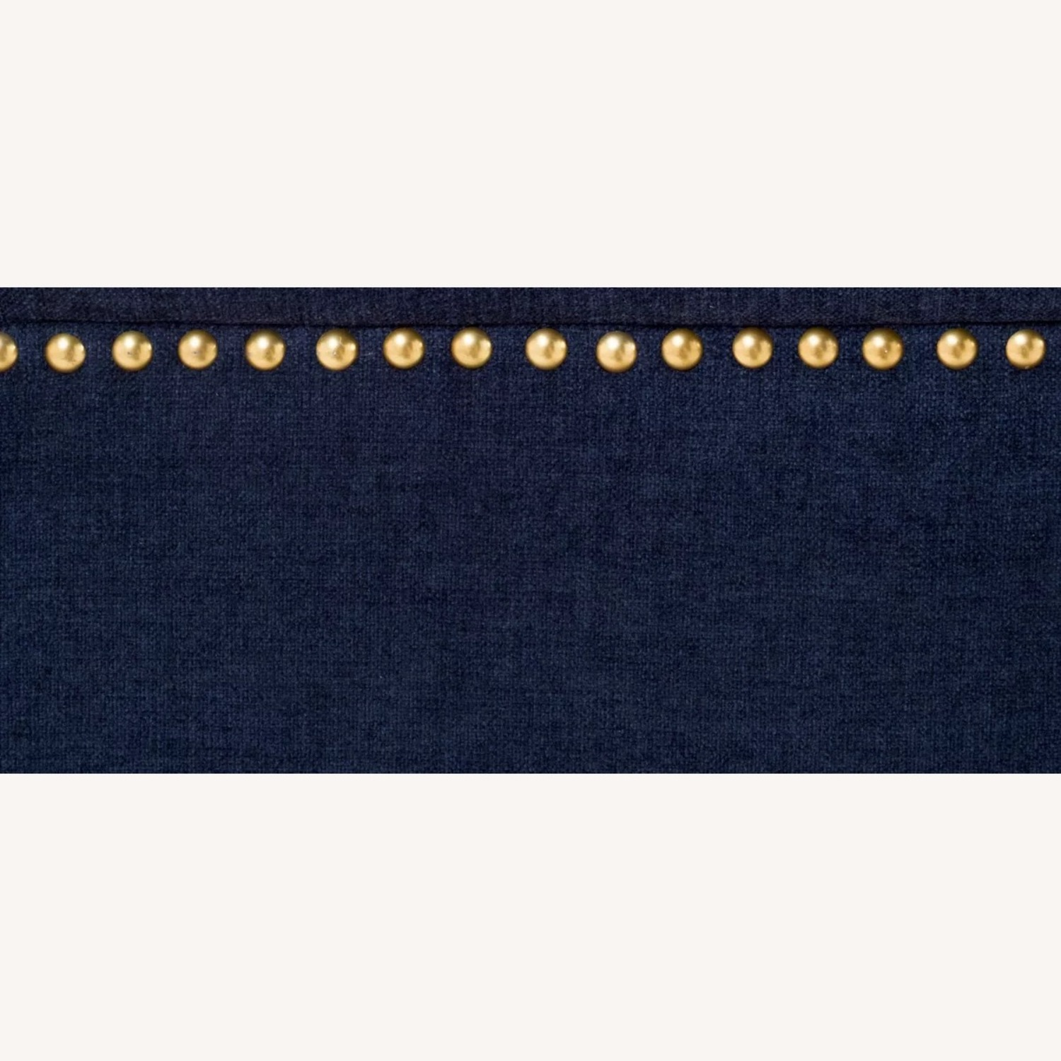 Raymour Flanigan Navy Tufted Loveseat - image-9