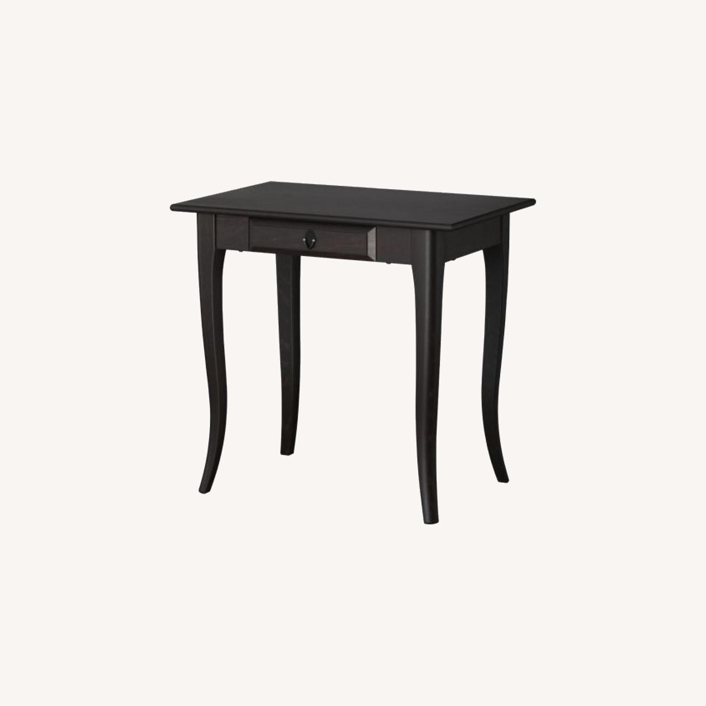 IKEA Black Desk - image-0