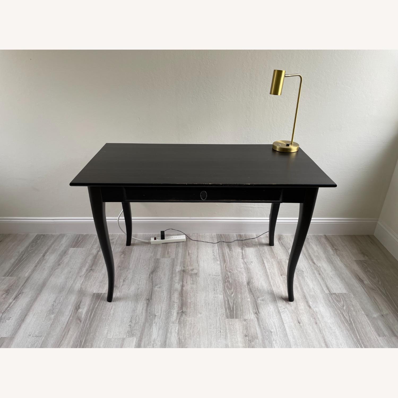 IKEA Black Desk - image-1