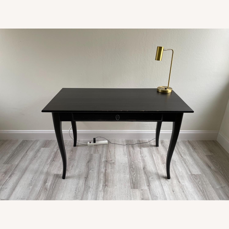 IKEA Black Desk - image-3