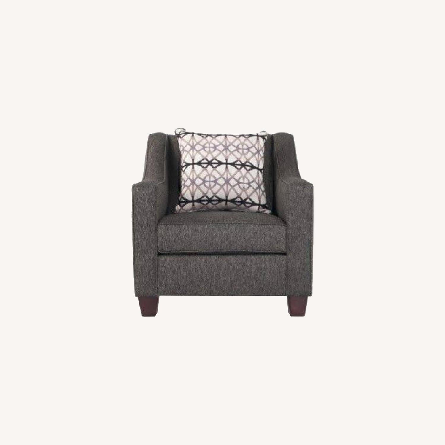 Bobs Discount Caleb Stoked Ash Armchair - image-0