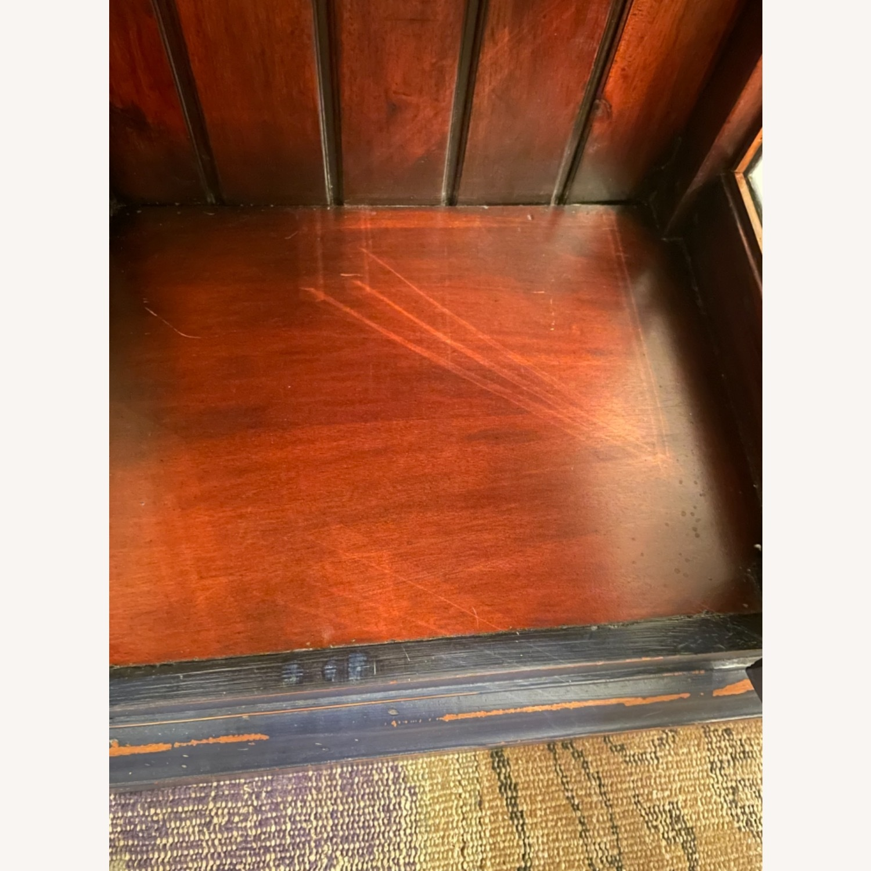 Mahogany & Glass Platypus Home Cabinet - image-7