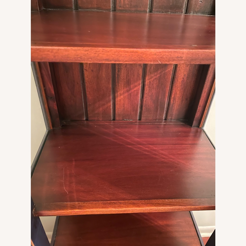 Mahogany & Glass Platypus Home Cabinet - image-9