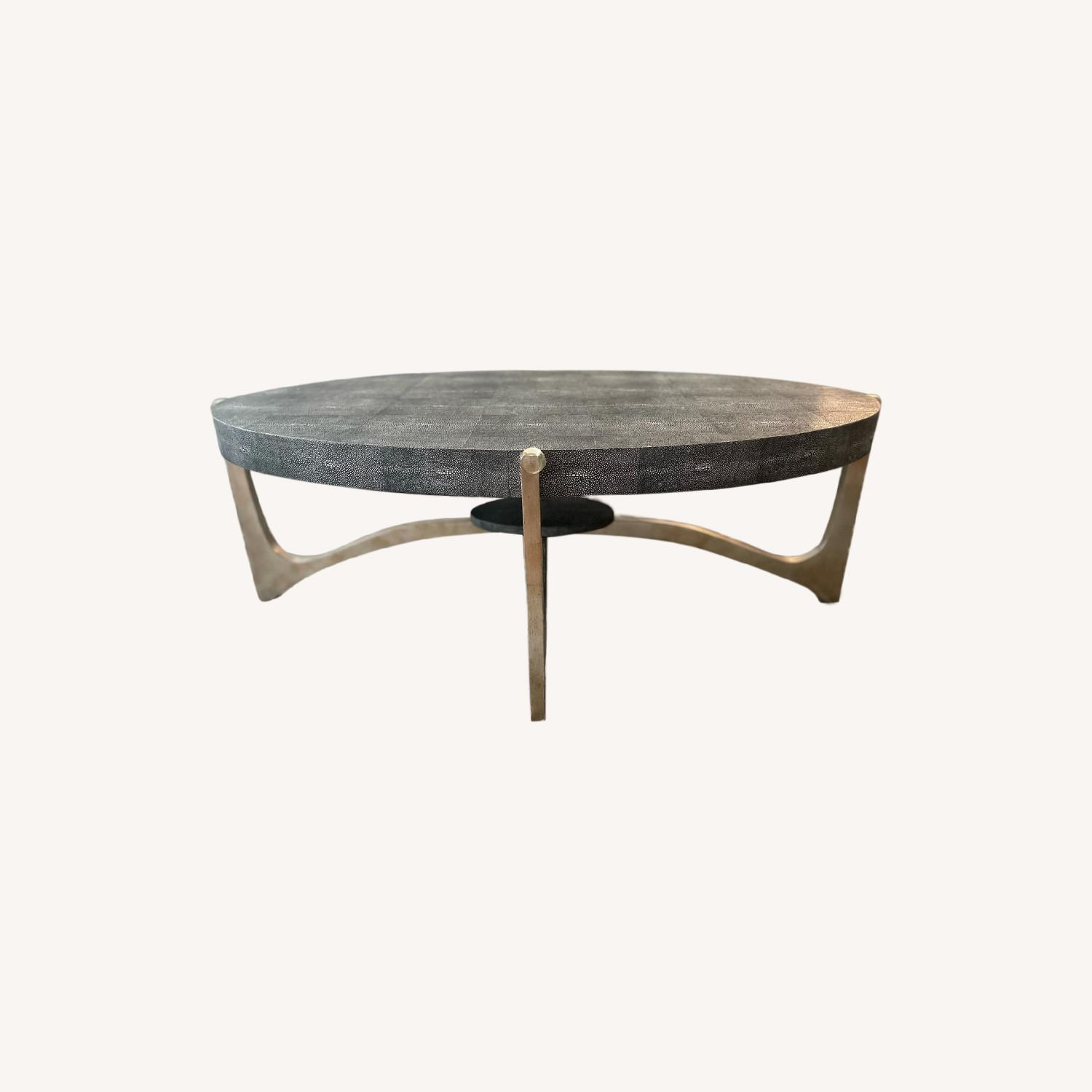 Made Goods Oval Dexter Coffee Table - image-0