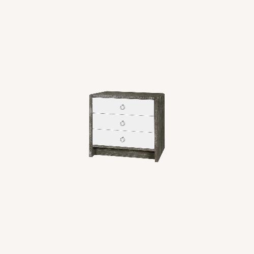 Used Bungalow 5 Niagara 3-Drawer Side Table, Gray for sale on AptDeco