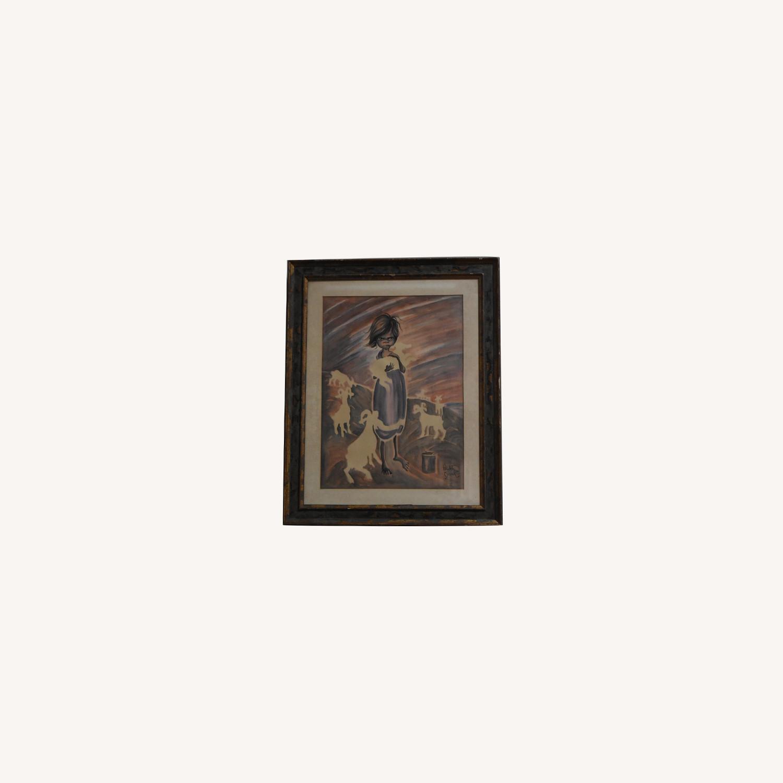 Elizabeth Swank - Original Watercolor Painting - image-0
