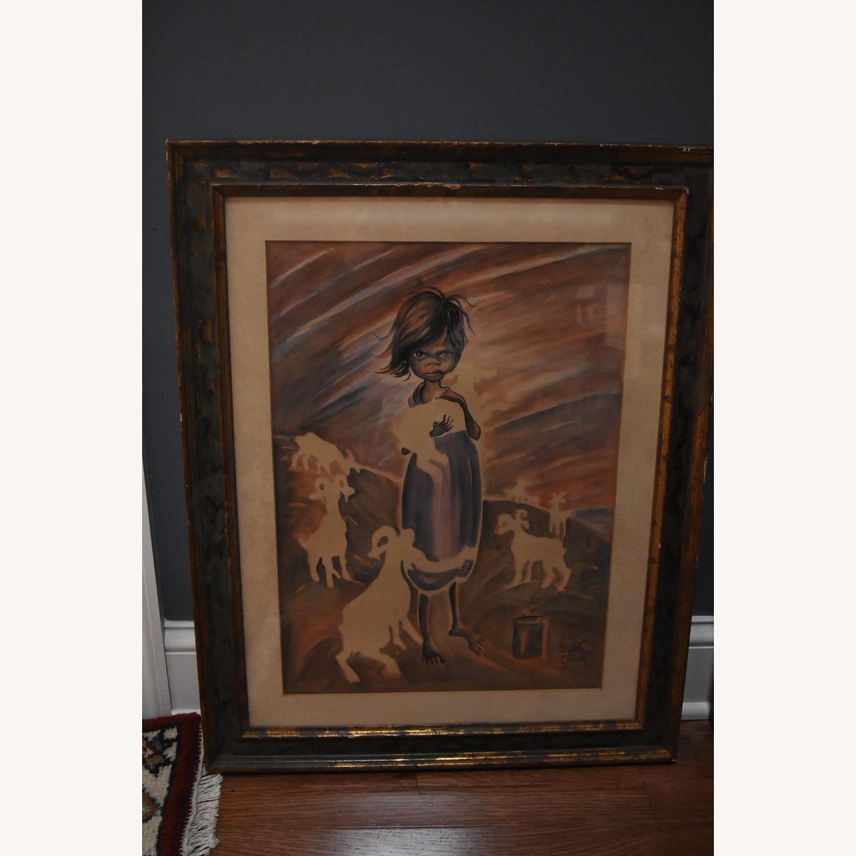 Elizabeth Swank - Original Watercolor Painting - image-1