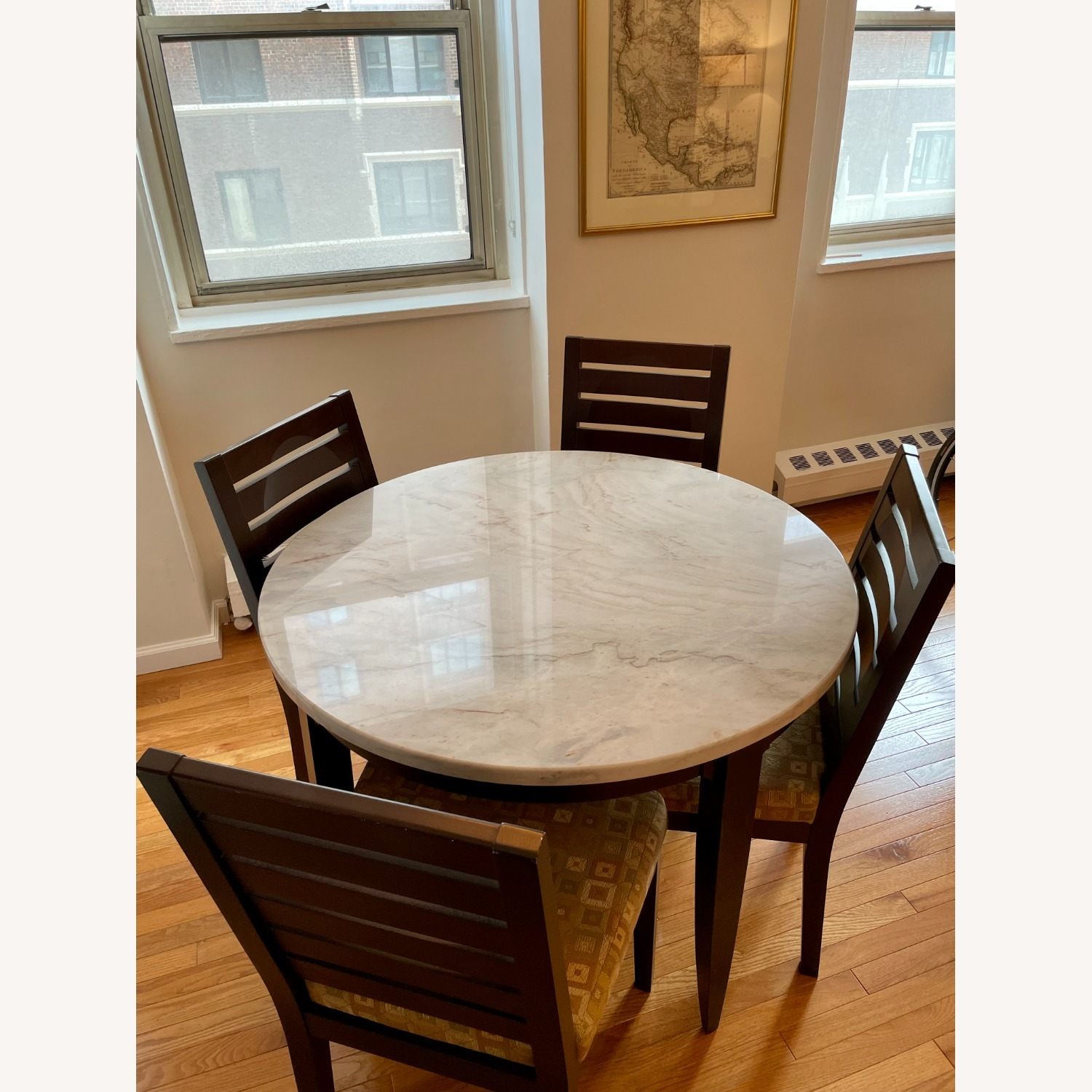 Dining Room Chairs with Modern Cushioning - image-4
