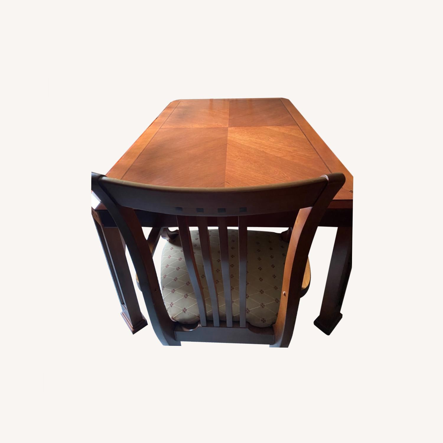 Ethan Allen Dining Table - image-0