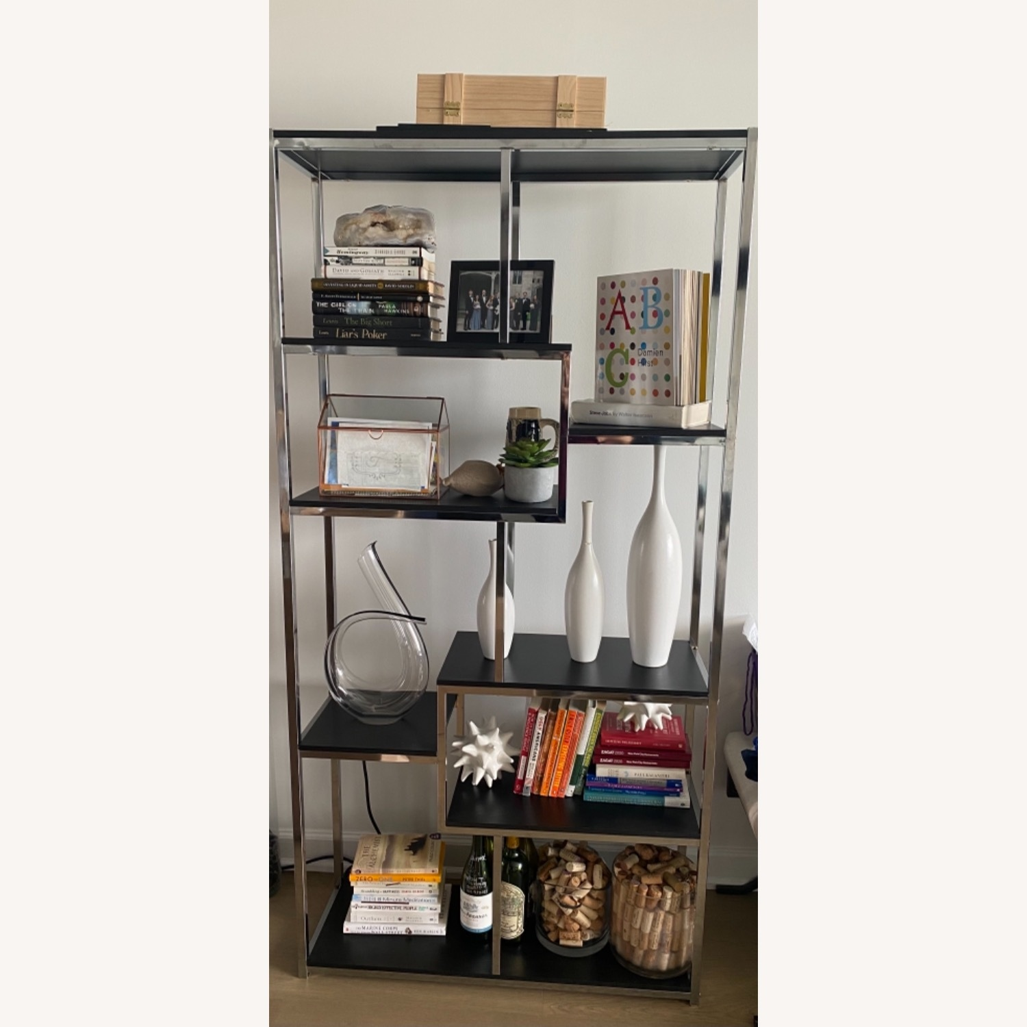 All Modern 71 Metal Bookcase - image-1