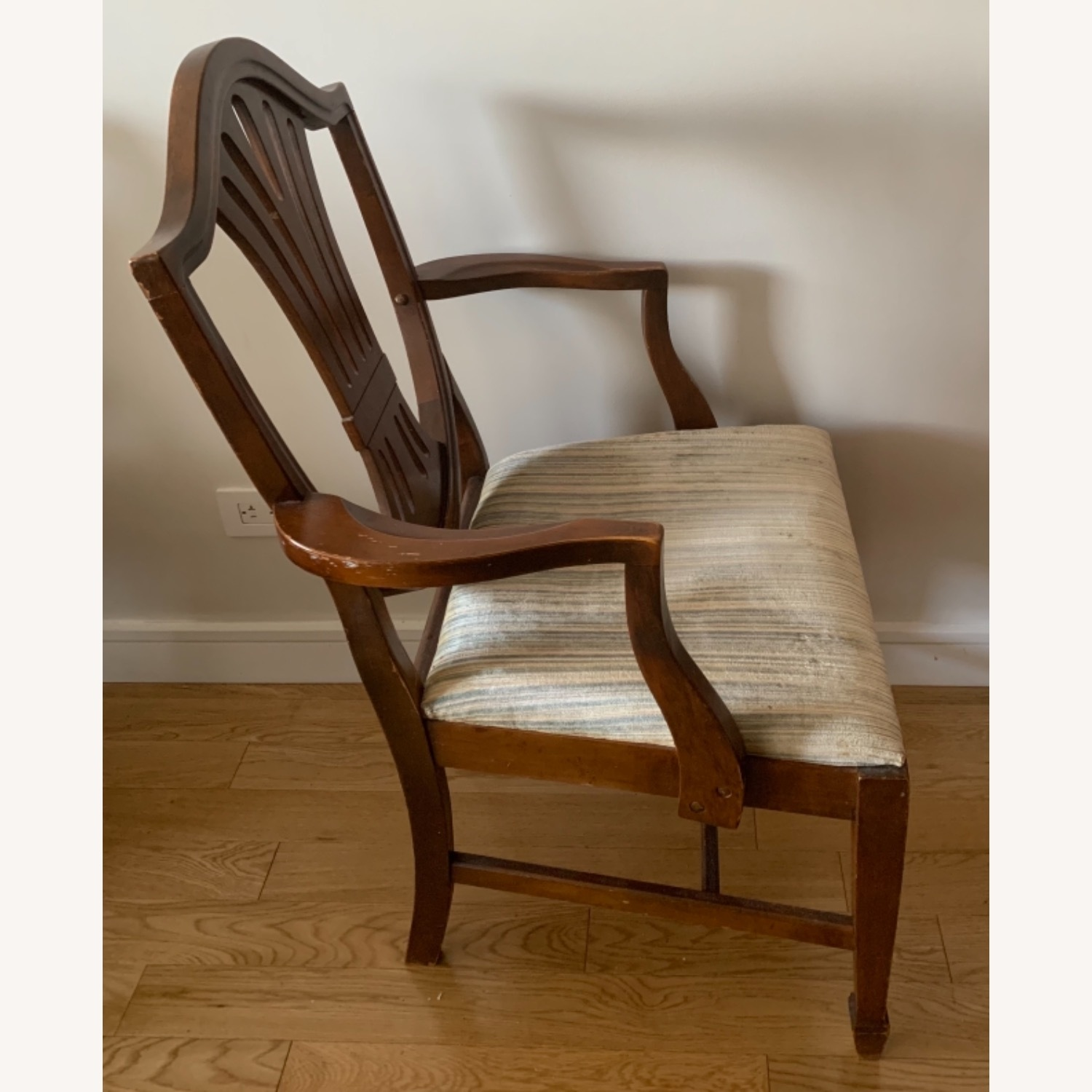 Antique Mahogany Dining Side Chairs - image-9
