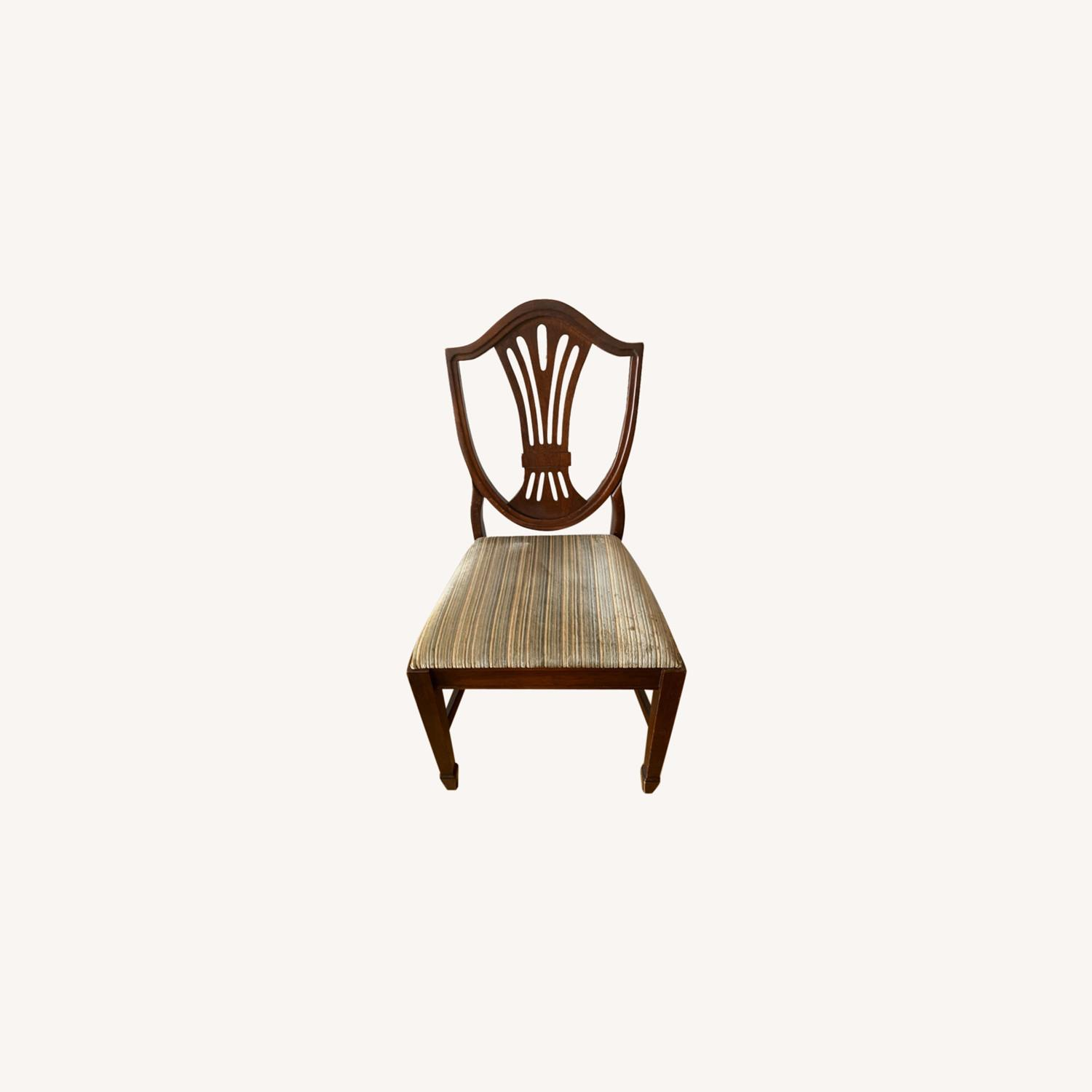 Antique Mahogany Dining Side Chairs - image-10