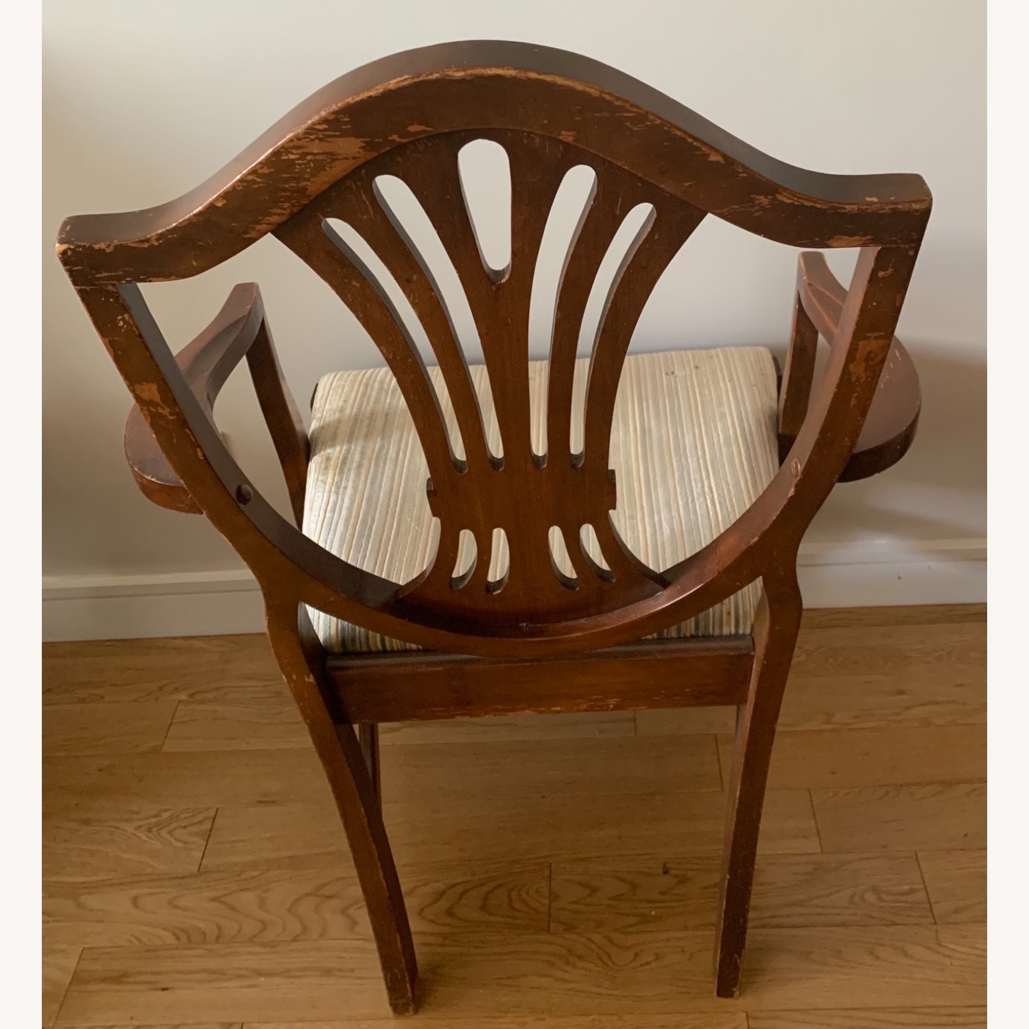 Antique Mahogany Dining Side Chairs - image-8