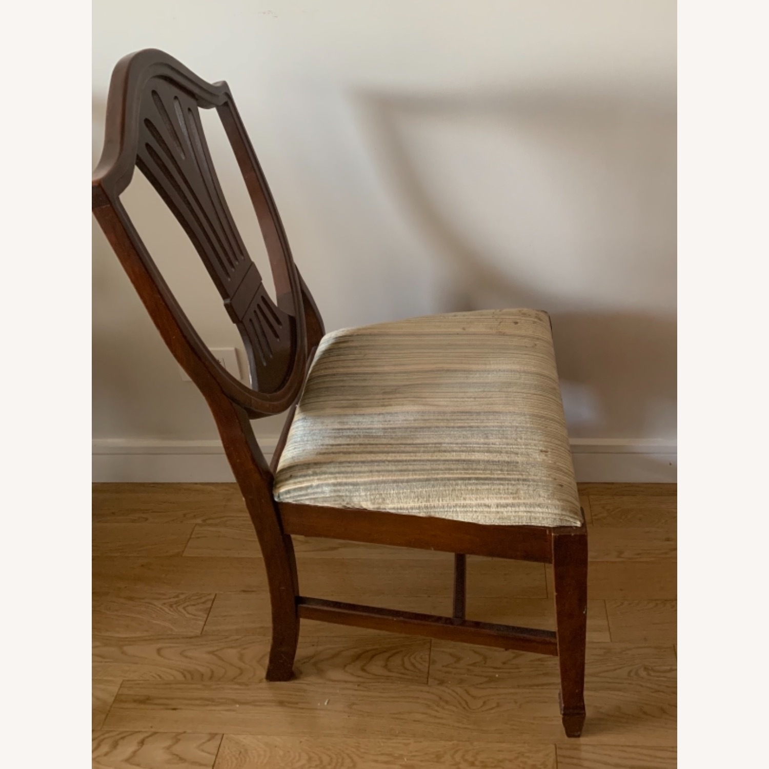 Antique Mahogany Dining Side Chairs - image-6