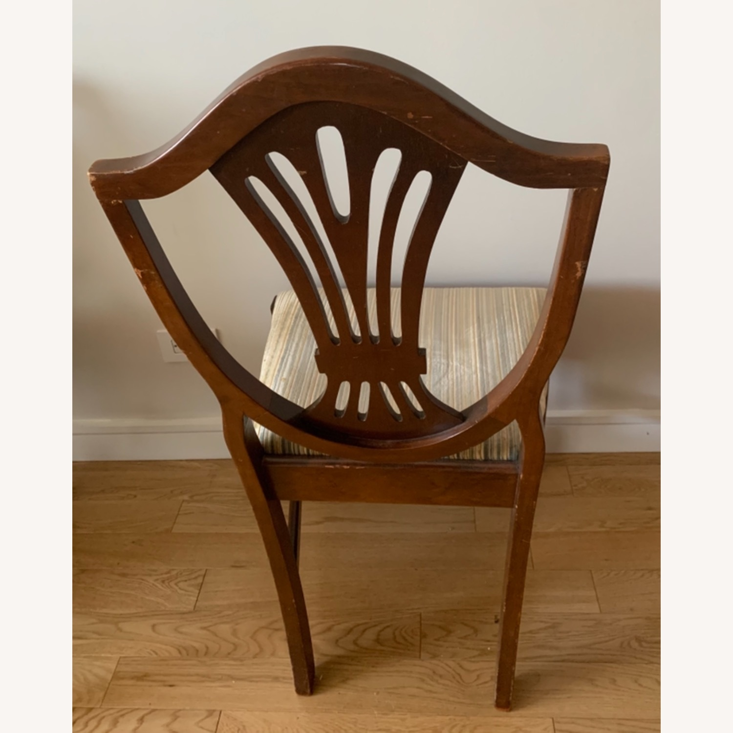 Antique Mahogany Dining Side Chairs - image-5