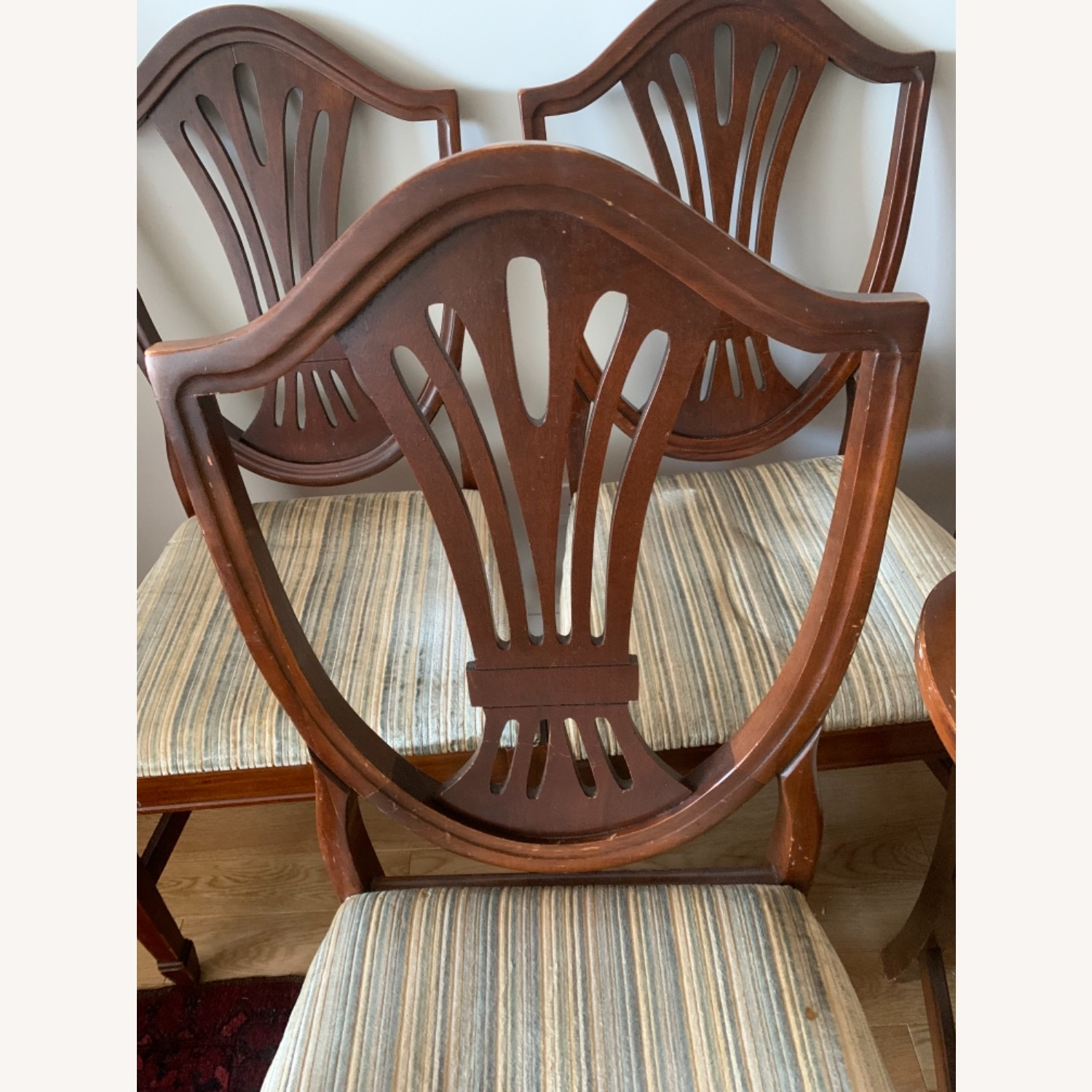 Antique Mahogany Dining Side Chairs - image-1