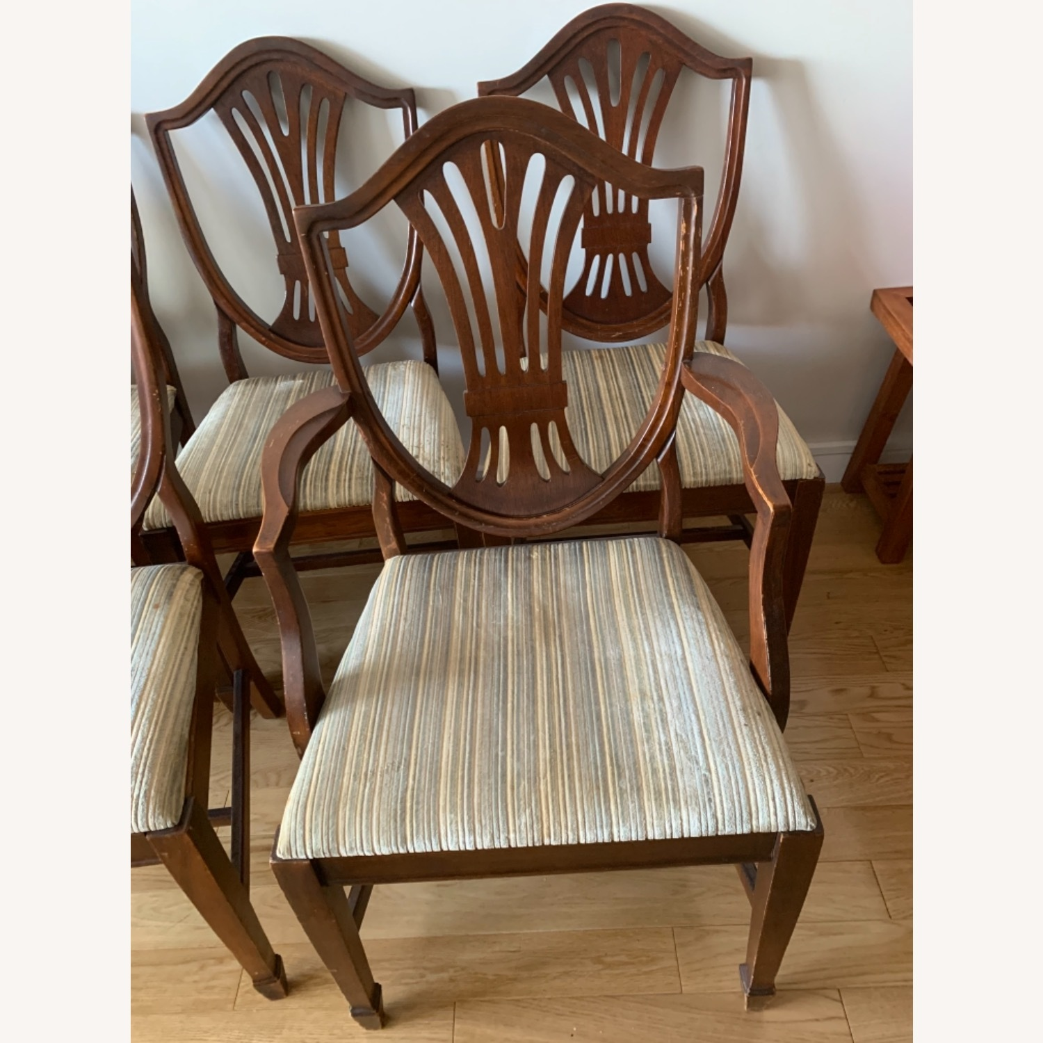 Antique Mahogany Dining Side Chairs - image-3