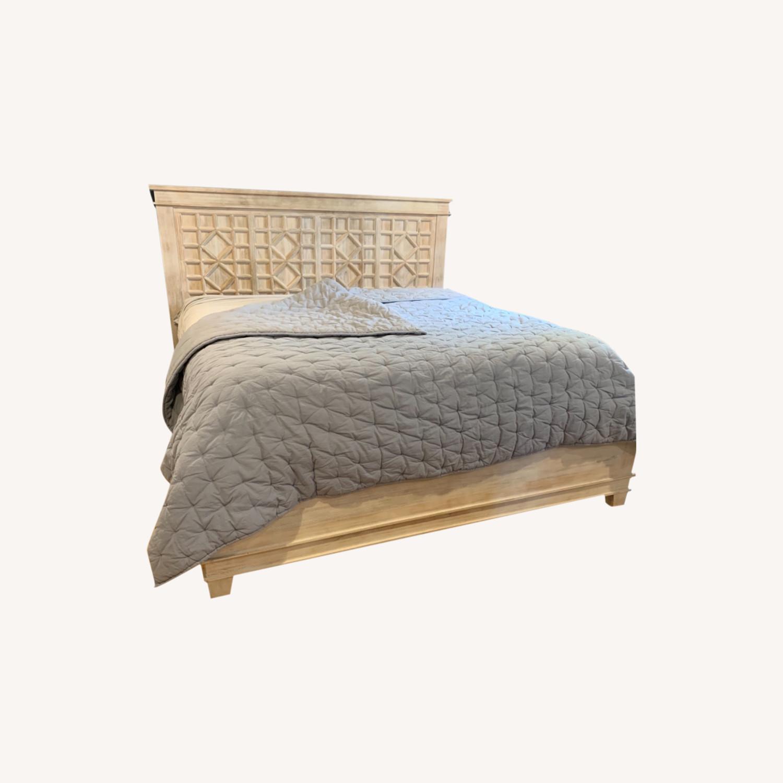 Pottery Barn Luella King Bed - image-0