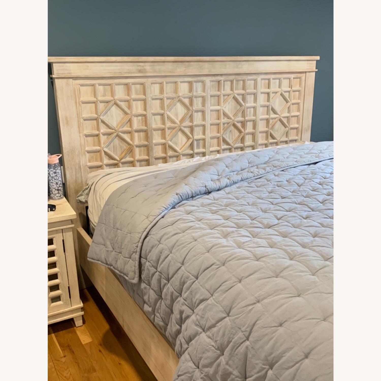 Pottery Barn Luella King Bed - image-2