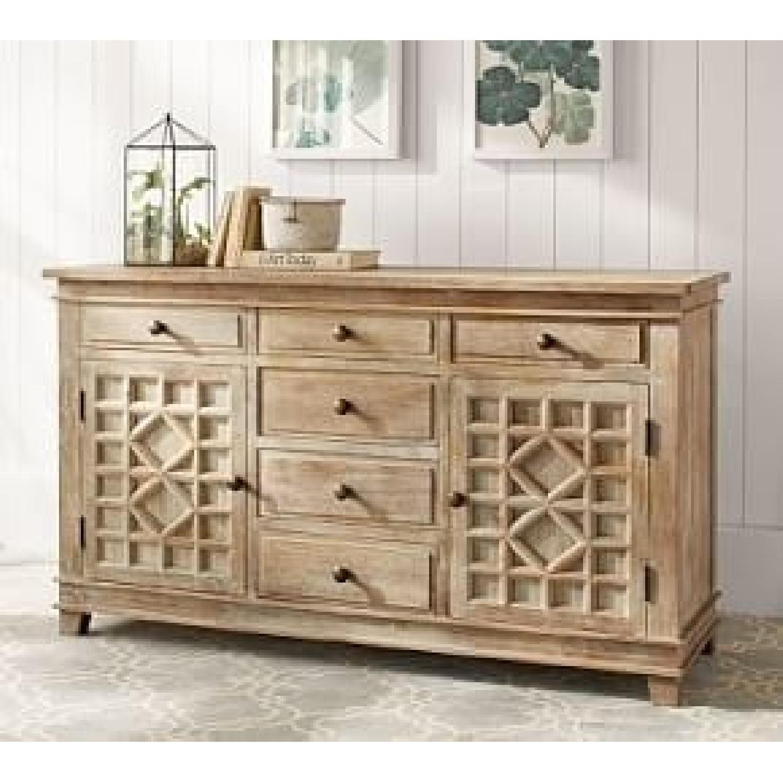 Pottery Barn Luella Extra Wide Dresser - image-5