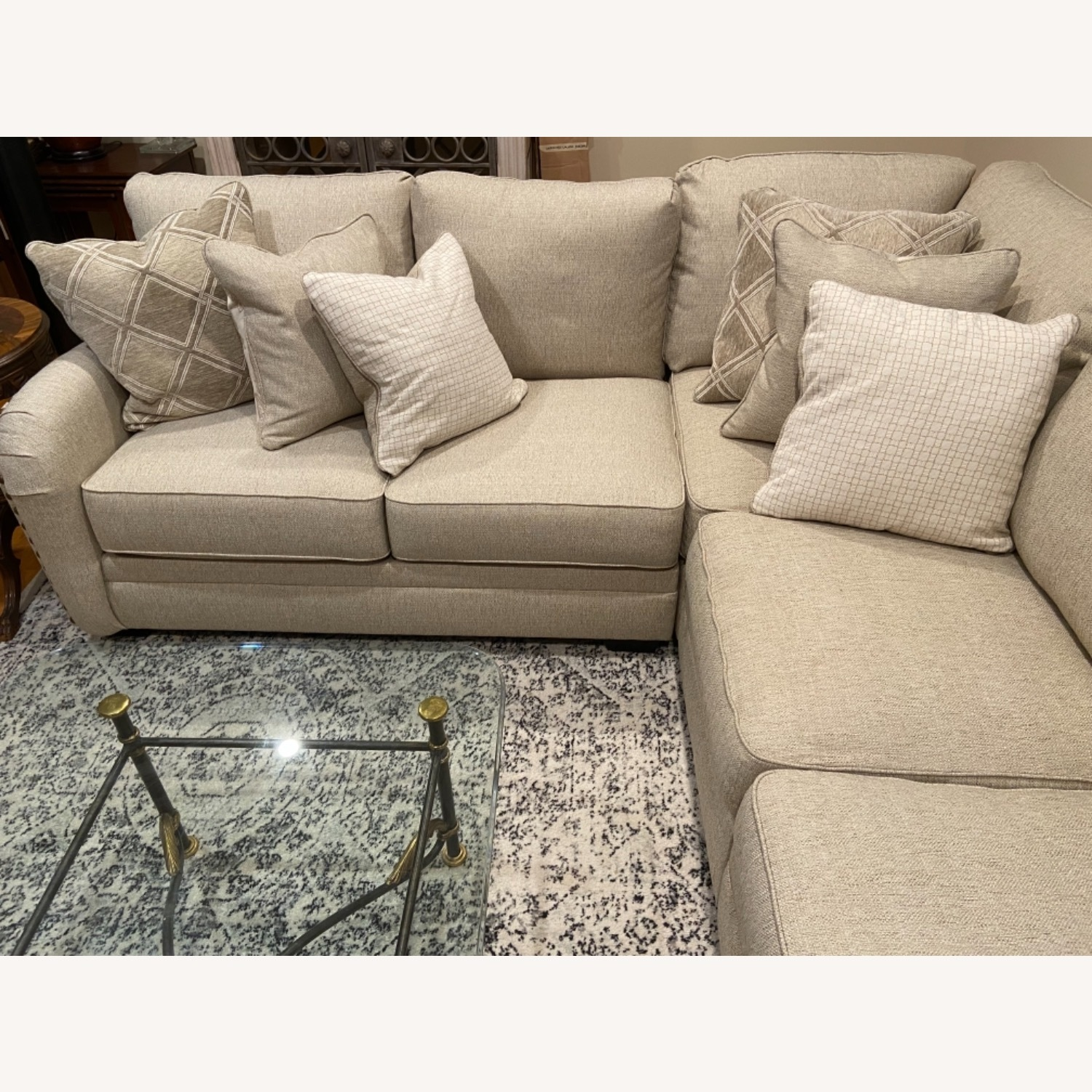 Ashley Furniture 5-pc Sectional with Chaise - image-3