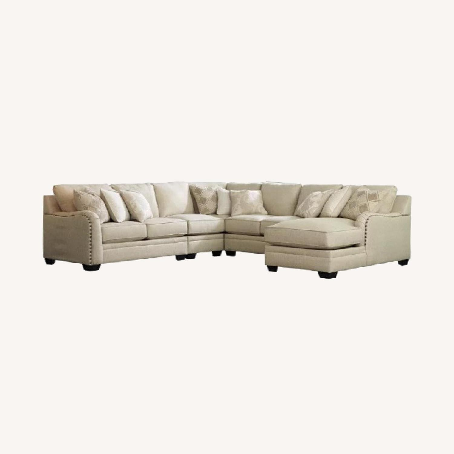 Ashley Furniture 5-pc Sectional with Chaise - image-0