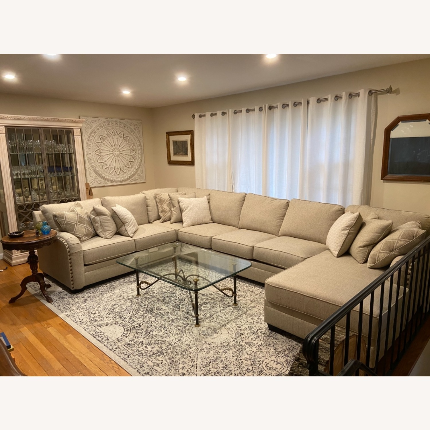 Ashley Furniture 5-pc Sectional with Chaise - image-1