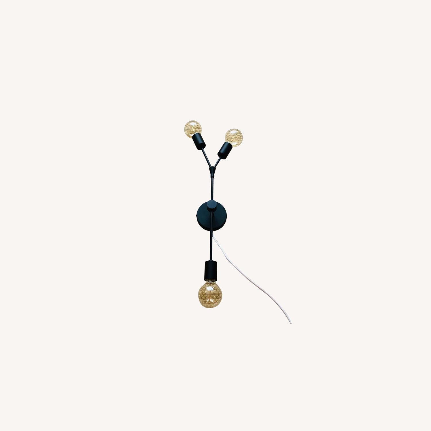 Twig 3-Arm Plug-In Sconce - image-0