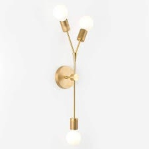 Used Twig 3-Arm Plug-In Sconce for sale on AptDeco