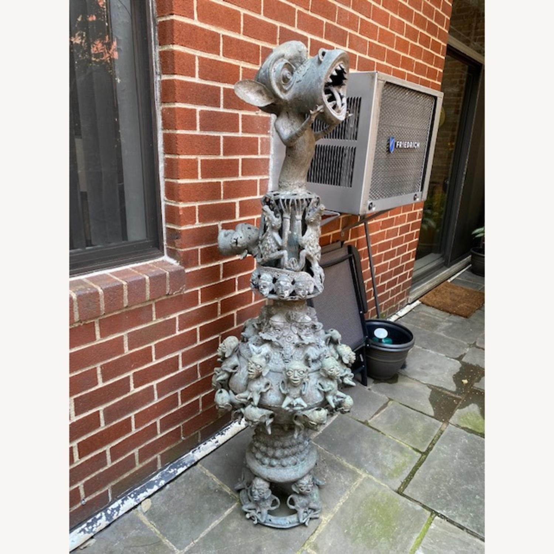 Metal African Statue - image-1