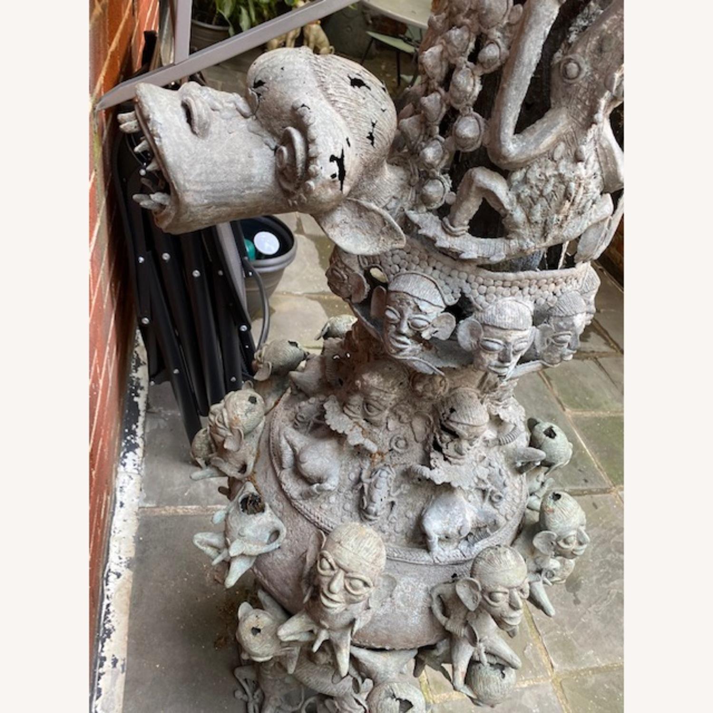 Metal African Statue - image-5