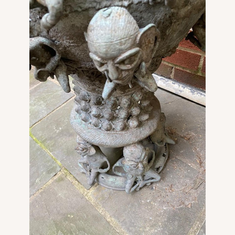 Metal African Statue - image-4
