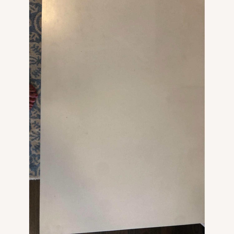 PB Teen White and Metal Desk - image-3