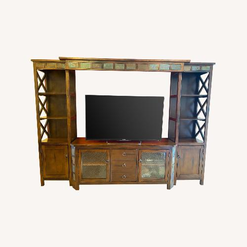 Used 4-Piece Wall Entertainment Unit for sale on AptDeco