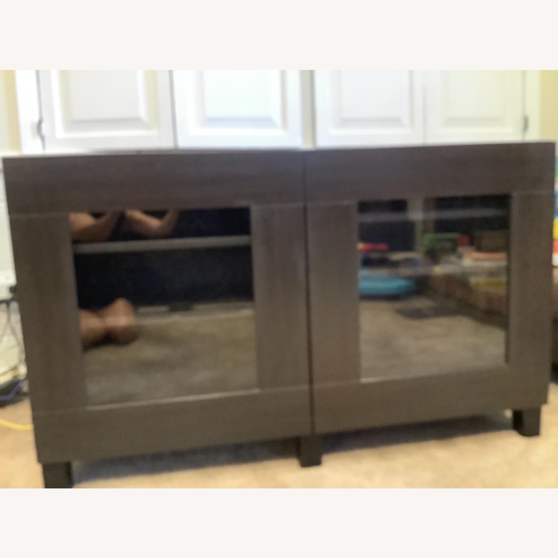 IKEA BESTA 2 Glass Doors Cabinet - image-2