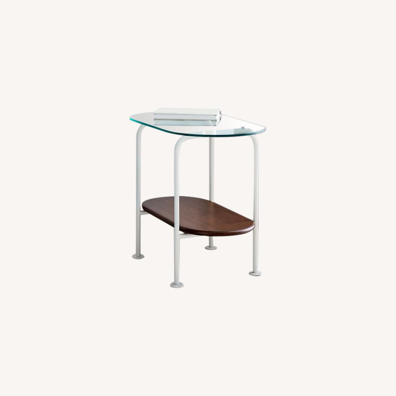 West Elm Ruby Side Table - Haze - image-0