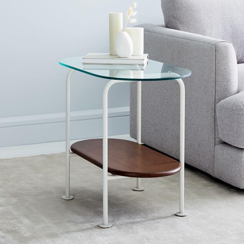West Elm Ruby Side Table - Haze - image-1