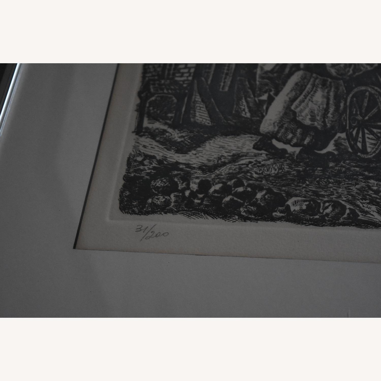 Chaim Goldberg - Signed Lithograph - image-4
