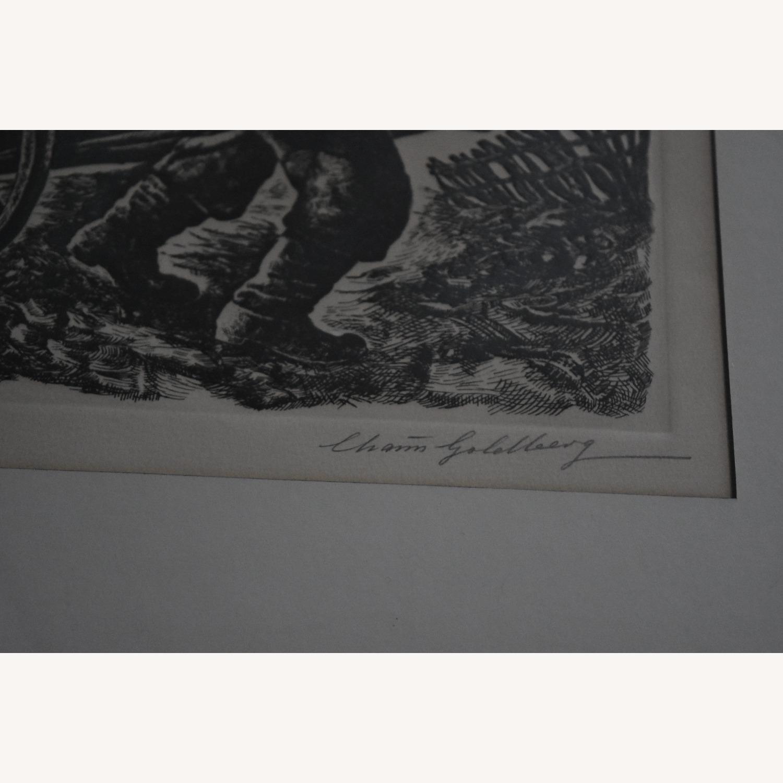 Chaim Goldberg - Signed Lithograph - image-3